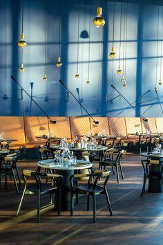 Knot chair in the New York inspired restaurant LOFT in Copenhagen