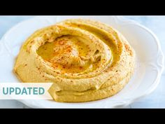 How to make our easy hummus recipe with canned chickpeas, garlic, tahini, and olive oil. Easy Flatbread Recipes, Easy Hummus Recipe, Make Hummus, Tahini Recipe, Homemade Tahini, Homemade Hummus, Hummus Sin Tahini, Tahini Sauce, Appetizers