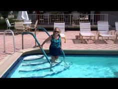 94 Year Old Alzheimer's Patient, Dotty, Goes to the Pool