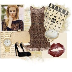 """""""Elegant Night"""" by oxette-romania on Polyvore"""