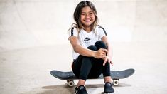 Girls can do ANYTHING we put our minds to! When you have fun and work hard, dreams really do come true. I'm so excited to be a part of this with Girl Celebrities, Celebs, 10 Year Old Model, Happy Journal, Sky Brown, Pro Skaters, Skater Outfits, Skate Girl, Olympic Athletes