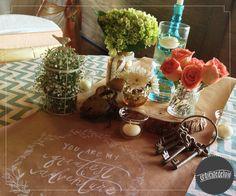 Detalle mesa principal <3