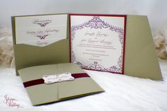 Gates of Old San Juan inspired wedding invitation by SDezigns