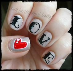 October Nail Artist of the Month - Nails for the Sake of Sanity - The Little Canvas