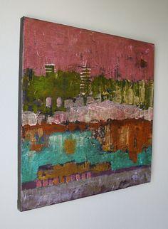 Abstract Landscape | Jane DesRosier