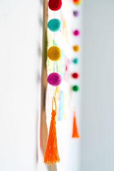 Rainbow Felt Pom Poms Rainbow Nursery, Rainbow Baby, Project Nursery, Pom  Poms, aa8b2accff