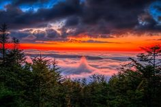 Clingman's Dome, Smoky Mountains