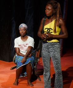 """An interview with Zainab Jah, the star of Broadway's """"Eclipsed"""" with Lupita Nyong'o."""
