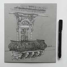 #tb  #art #drawing #pen #sketch #illustration #architecture