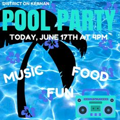 Come relax and cool off at our Pool Party today with hot dogs, hamburgers, music and cool drinks! It's gonna be a hot one, so why not come to the pool and get a tan and some FREE FOOD at 4PM?! See you there! #tgif #freefood #dok #poolparty #splishsplash