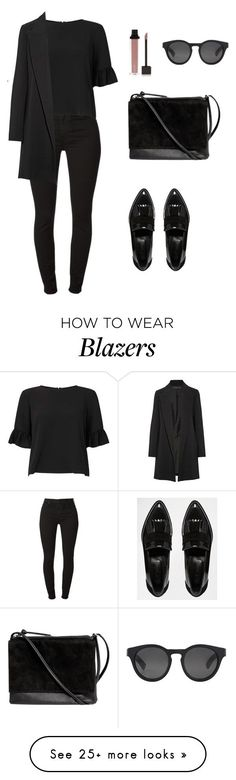 All-Black Outfit Ideas That Are Seriously Chic www.bloody-fabulo… A black outfit is the perfect canvas for a pop of color in your accessories. Work Fashion, Trendy Fashion, Winter Fashion, Womens Fashion, Fashion Black, Classy Outfits, Casual Outfits, Cute Outfits, Fashion Outfits