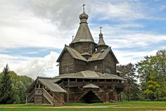 """""""Vitoslavlitsy"""" - The Museum of Russian Wooden Architecture ( Россия )"""