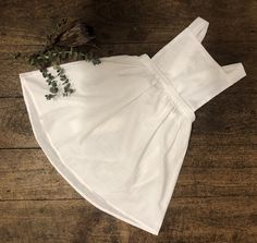Linen Pinafore Handmade Clothes, Stylish Outfits, White Shorts, Long Sleeve, Cotton, How To Wear, Australia, Girls, Dresses