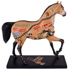 Rockin' Route 66 Limited Edition Painted Pony By S.V. Medaris from Tribal Impressions- Review off of: http://www.indianvillagemall.com/statue/pproute66.html    You can review the complete line of Painted Ponies -watch some videos about them and learn their history off of: http://www.indianvillagemall.com/statue/ppmenu.html
