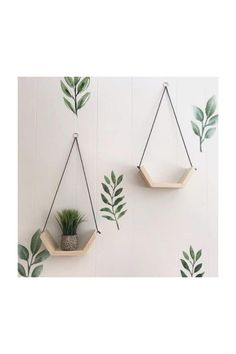 House Plants Decor, Plant Decor, Plant Wall, Diy Home Crafts, Craft Stick Crafts, Diy Home Decor Easy, Diy Wall Decor, Room Decor, Diy Para A Casa