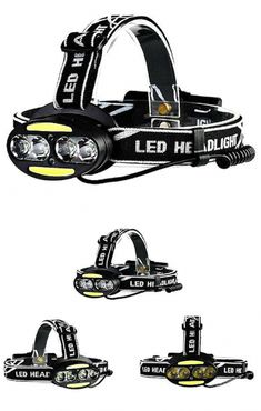 Military ARMY STYLE PREDATOR CREW 3W HEADLAMP  Light Military Forces Camping