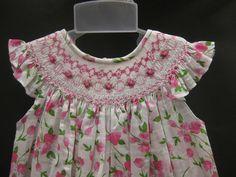 NWT Will& Bishop Smocked Dress Girls Pink Print Birthday Toddler Pink And White Dress, Pink White, Girls Smocked Dresses, Smocked Dresses For Toddlers, Smocks, Smock Dress, Lace Dress, Little Girl Dresses, Toddler Dress
