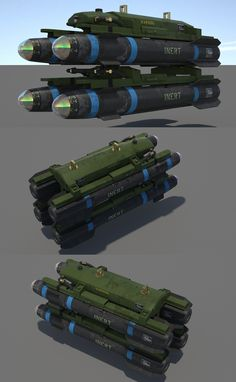 """model Hellfire Missile"""" Air To Ground Missile Hidden Weapons, Sci Fi Weapons, Weapon Concept Art, Army Vehicles, Armored Vehicles, Military Weapons, Military Aircraft, Self Propelled Artillery, Futuristic Armour"""