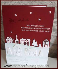 Da es im Moment die tollen neuen Weihnachtssets gibt, ist Weihnachten in meinem Bastelzimmer eingezogen.. Diese Karten habe ich in 2 Vari...