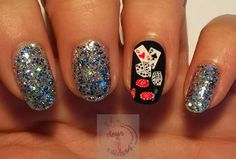 38 Best Casino Make Up And Nail Art Images Cute Nails