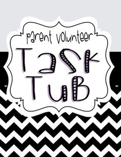 """Get parents involved with this engaging """"Parent Task Tub"""" package. The set… Parent Volunteer Form, Classroom Volunteer, Volunteer Jobs, Parent Teacher Communication, Teacher Toolkit, Classroom Helpers, Teacher Notebook, Classroom Organization, Classroom Ideas"""