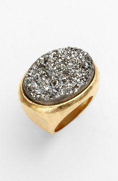 Marcia Moran 'Drusy Extravaganza' Oval Ring | Nordstrom