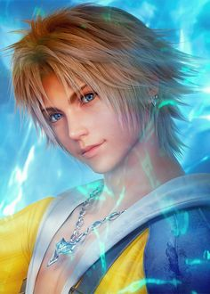Tidus, FFX. A very touchingly nostalgic feeling whenever I look at him!