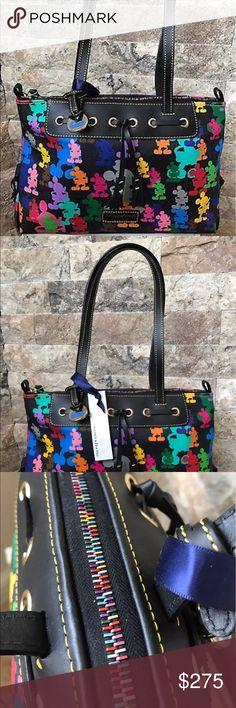 Selling this NWT Disney Dooney & Bourke Large Wonder Tassel Bag on Poshmark! My username is: deenas47. #shopmycloset #poshmark #fashion #shopping #style #forsale #Dooney & Bourke #Handbags
