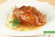 Rabbit Braised in Red Wine with Rosemary | Italian Food Recipes | Genius cook - Healthy Nutrition, Tasty Food, Simple Recipes