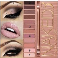 Urban decay naked 3 palette set Urban decay naked 3 palette set. 12 colors 2 sided brush and mirror. Brand new never used! Urban Decay Makeup Eyeshadow
