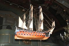A votive ship in the church. Before holidayvisitors who payed to enjoy bathing became the source of income for the inhabitants of Fiskebäckskil, fishing in the north sea was their main, but dangerous, occupation.