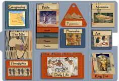 The free black and white lapbook templates we offer have grown very popular. Lap Books, Study History, Mystery Of History, Teaching Social Studies, Teaching History, Lapbook Templates, Templates Free, Ancient Egypt, Ancient History