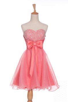 Custom A-line Sweetheart Sleeveless Above the knee organza Sequins Short Prom Dress Bridesmaid Dress Formal Evening Dress Party Dress 2013