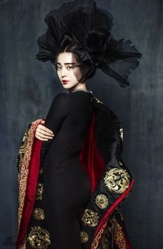 Fan Bingbing by Chen Man for Marie Claire China January 2015