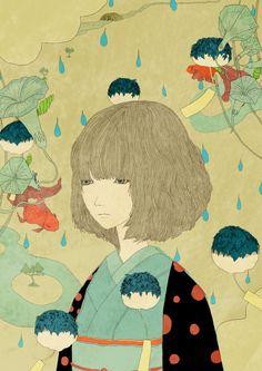 kotaro chiba, evocando la tradición japonesa