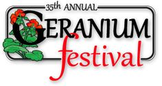 The 35th Annual Geranium Festival is coming up, May 19, 2012 in historic downtown McDonough, Ga.  Arts, Crafts, Entertainment and yummy treats to eat!