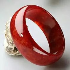Solid Red Jade