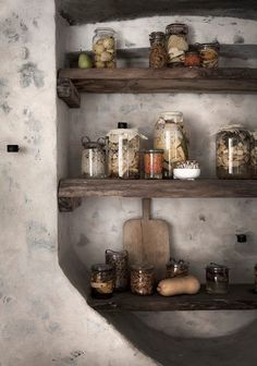 Pantry Niche - Spices, Herbs, Oils, Vinegars, Sugar, Tea, Coffee etc.