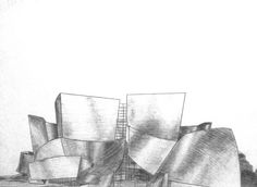 Walt Disney Concert Hall Disney Hall, Walt Disney Concert Hall, Places To Go, Abstract, Drawings, Artwork, Kunst, Summary, Work Of Art
