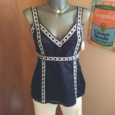 Tory by Tory Burch NWT top Never worn, new with tags. Pristine and excellent. Tory Burch Tops