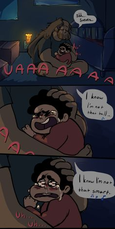 "Steven-""Remember when you use to sing to me dad? Steven Universe Funny, Greg Universe, Universe Art, Steven Univese, Lapidot, Vanellope, Sing To Me, Pokemon, Thing 1"