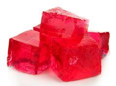 Malinové želé cukríky