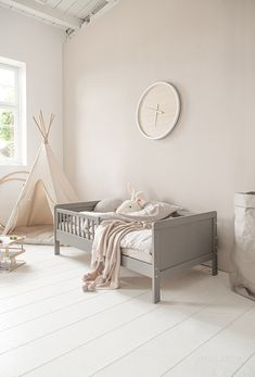 Home Bedroom, Girls Bedroom, Taupe Nursery, Toy Rooms, Baby Room, Kids Room, Toddler Bed, Wall Decor, Furniture