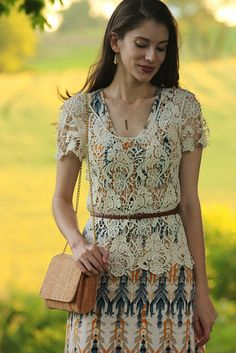 Love this layered look! Worn with our Bar Necklace.  Maxi Remixed by Jeans and a Teacup