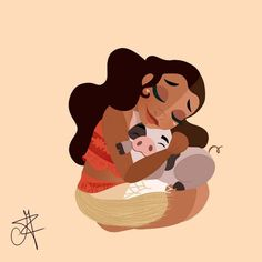 Princesas Disney com seus pets | Just Lia