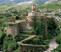 castle gjirokaster, Albania
