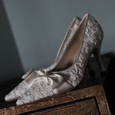 Wedding shoes fit for the Ragtime era