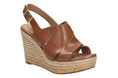 Clarks Damen Freizeit Clarks Amelia Dally Leder Sandalen In Größe 42 - http://on-line-kaufen.de/clarks/42e-clarks-amelia-dally-damen-slingback-sandalen