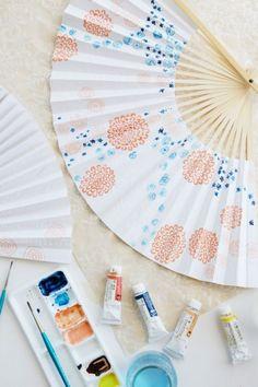 Paper fan how-to