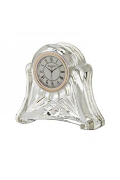 Crystal Small Dartington Crystal Clock